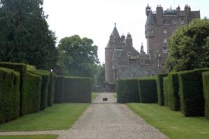 Italian Gardens Glamis Castle